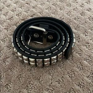 Hot Topic 2 row studded belt, vintage